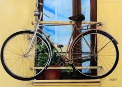 bike in the window