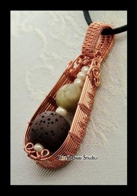04 Copper Diffuser pendant