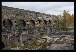 Old Pinawa Dam