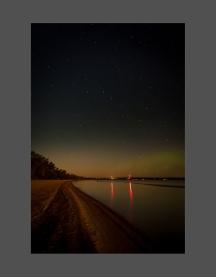 Star-gazing on Albert Beach